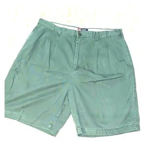CHAPS Pleated Shorts